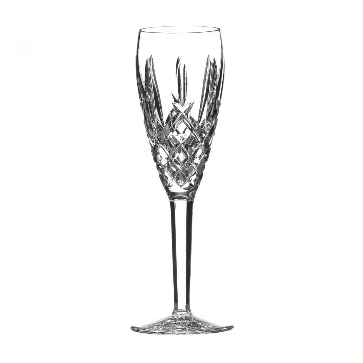 Waterford Araglin Crystal Flute Crystal Champagne, Single