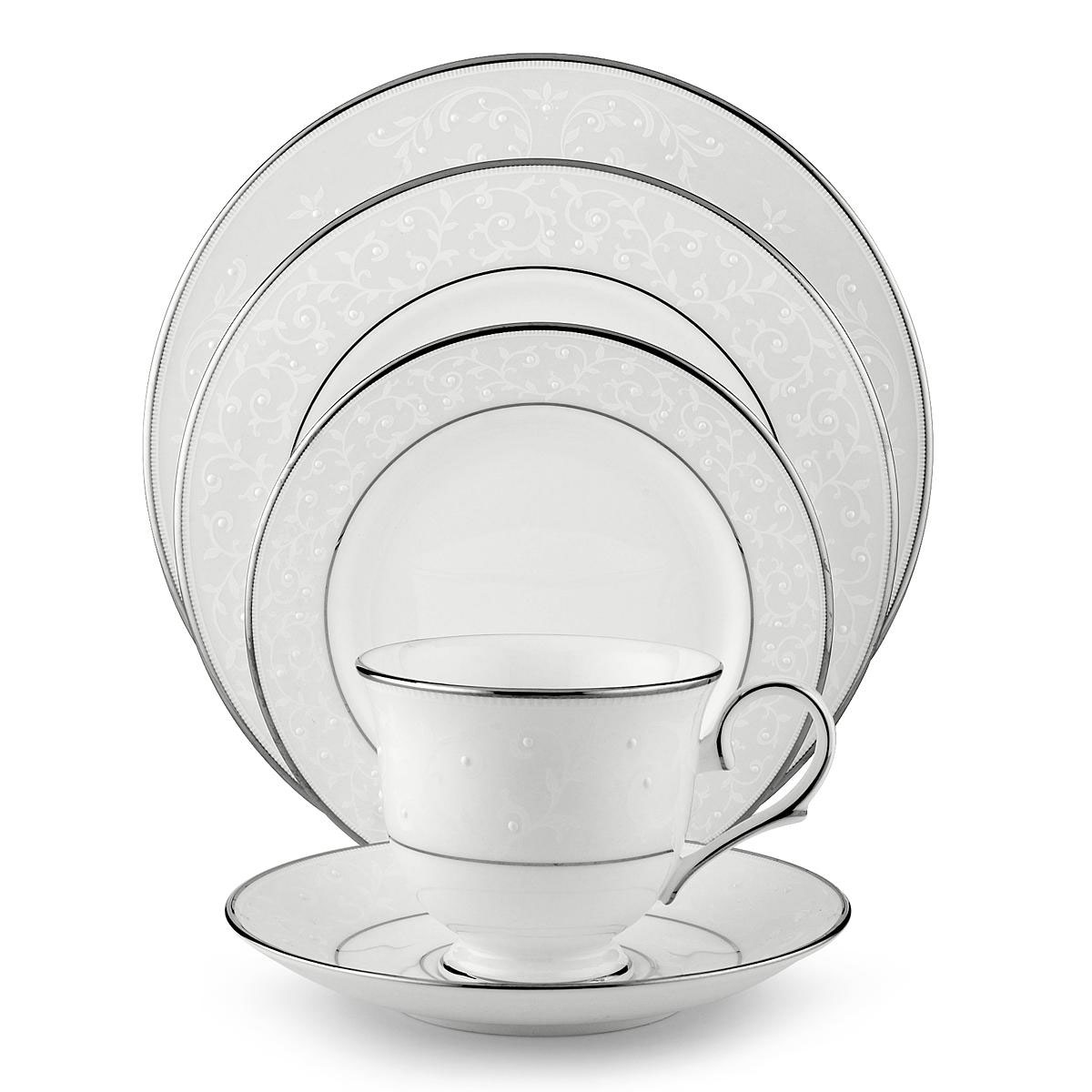 Lenox Opal Innocence, 5 Piece Place Setting
