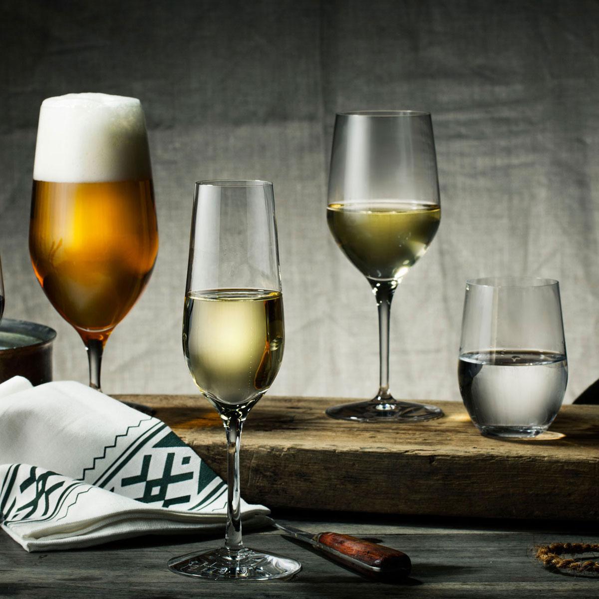 Orrefors Morberg Collection Champagne Flute, Set of 4