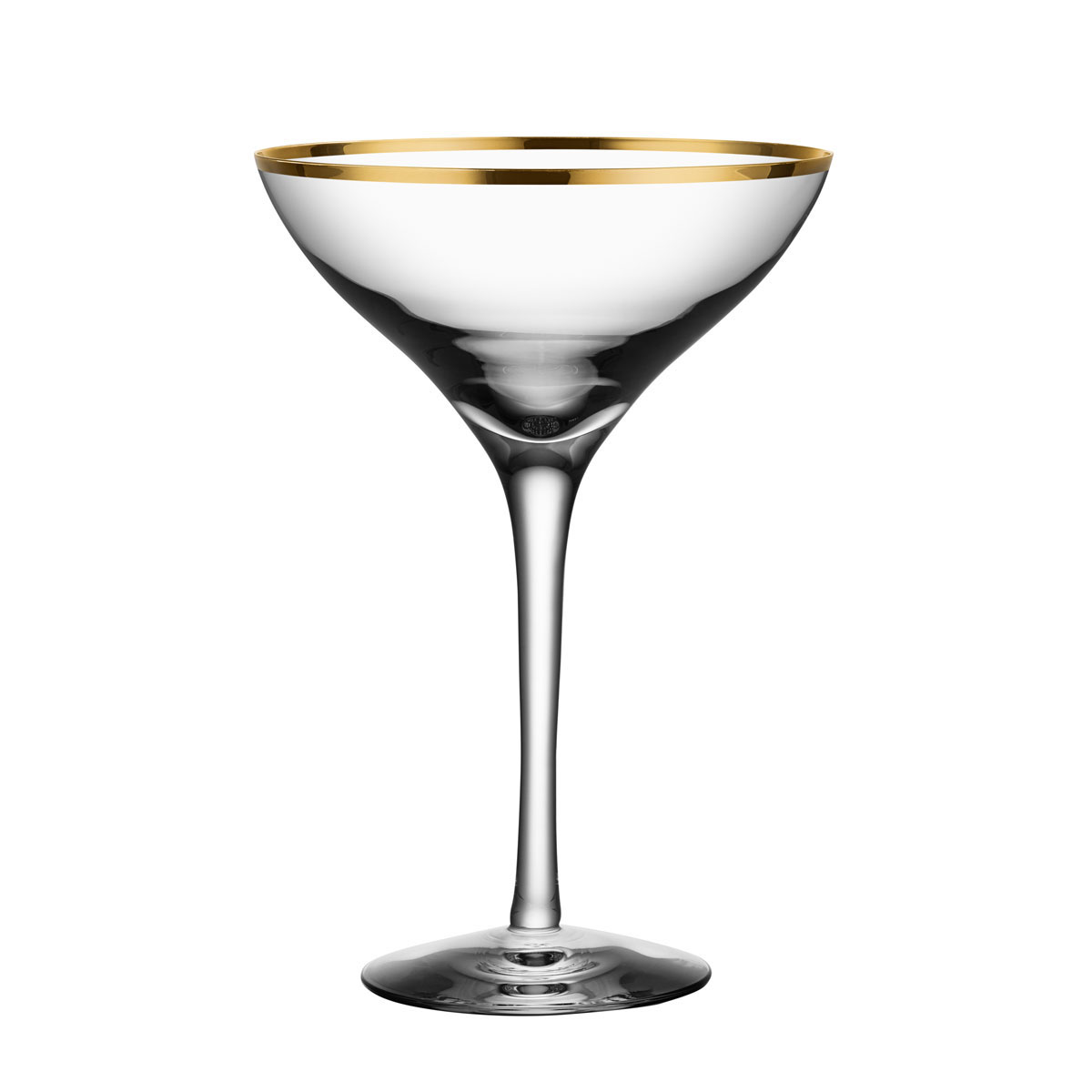 Orrefors Crystal, Morberg Exclusive Crystal Champagne Coupe, Pair