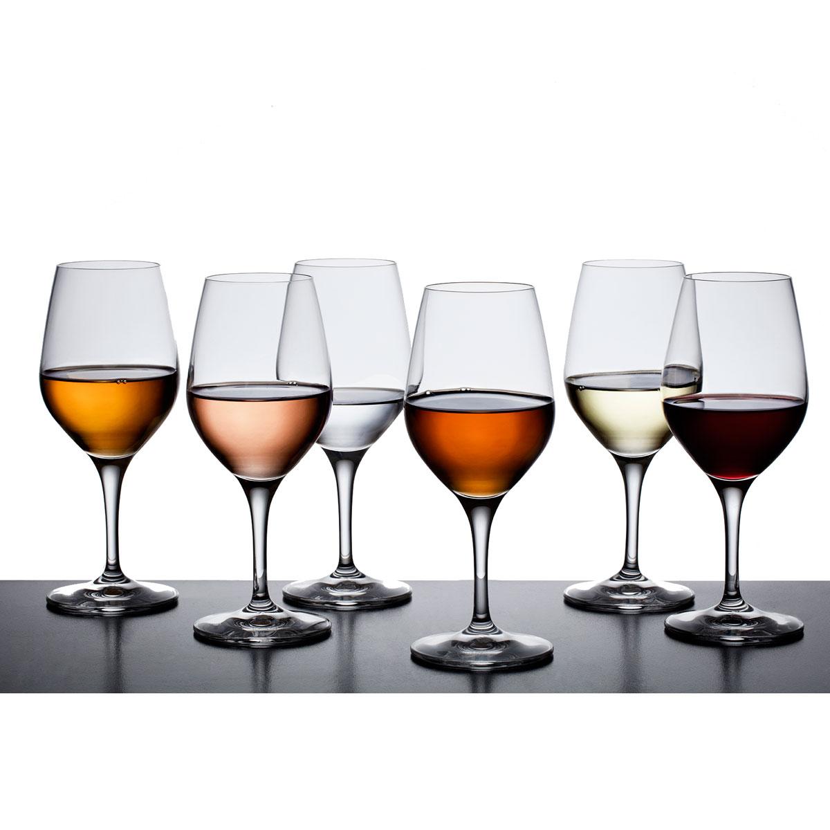 Orrefors Crystal Sense Universal Wine Glasses, Set of 6