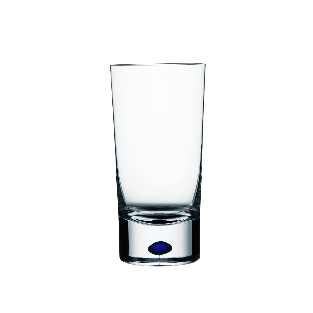Orrefors Crystal, Intermezzo Blue Tumbler, Single