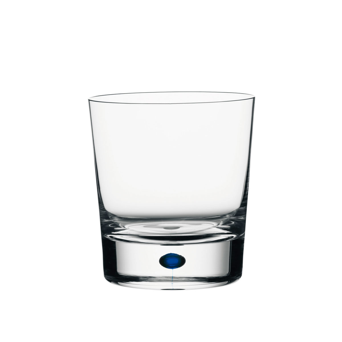 Orrefors Crystal, Intermezzo Blue Crystal DOF Tumbler Blue, Single