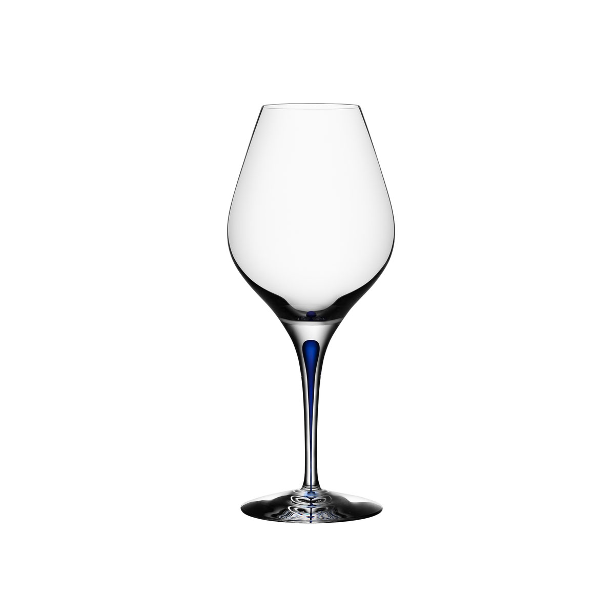 Orrefors Crystal, Intermezzo Blue Aromas Crystal Wine, Single