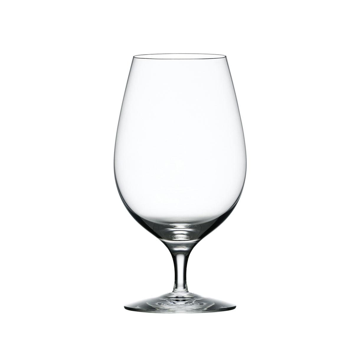 Orrefors Crystal Merlot Beer/Iced Beverage, Single