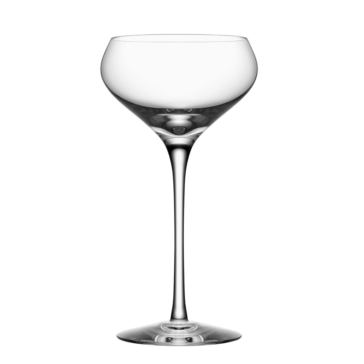 Orrefors Crystal Zephyr Champagne Coupe, Single