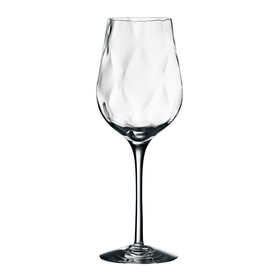 Orrefors Crystal, Dizzy Diamond Crystal White Wine, Single