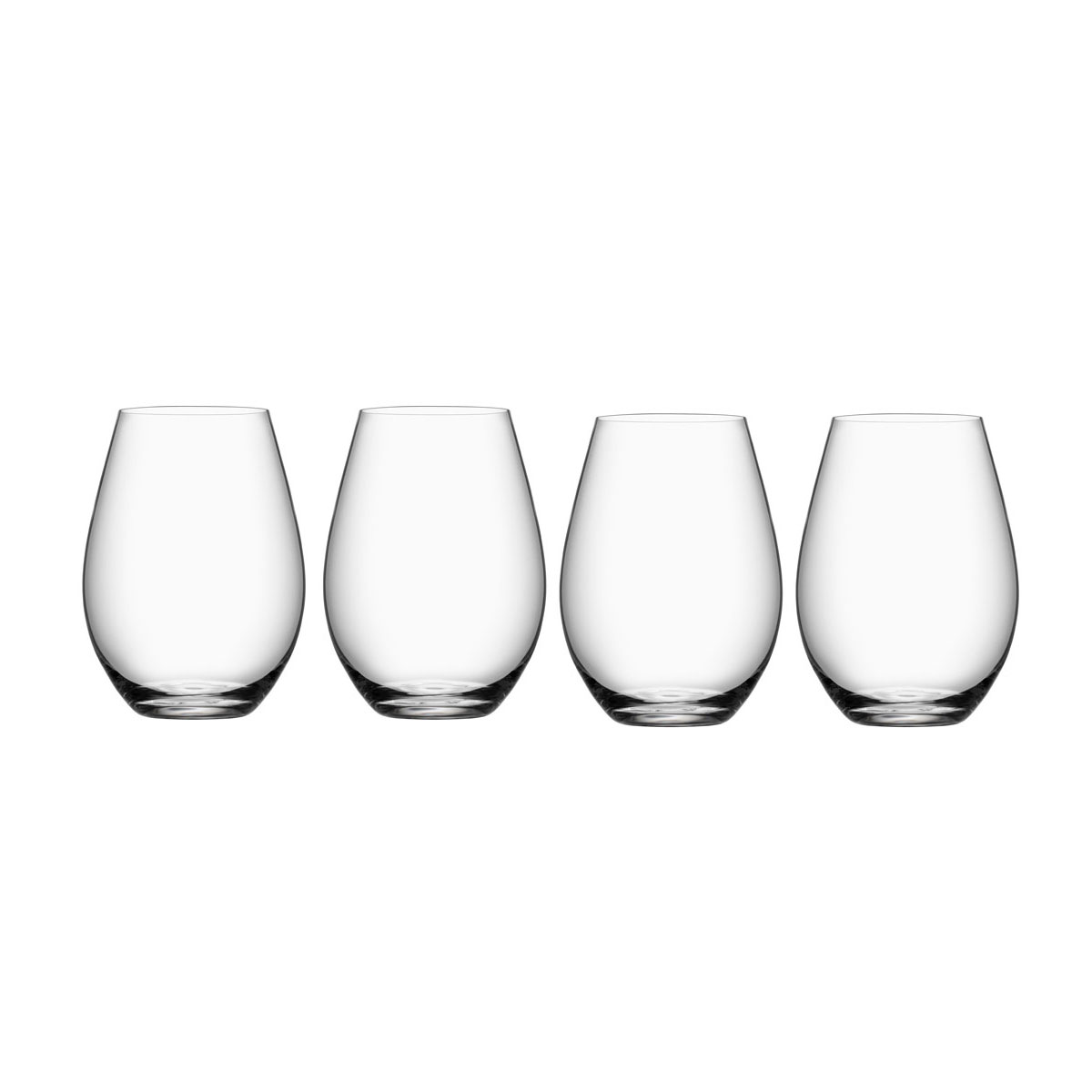Orrefors More Stemless Wine Tumblers, Set of Four
