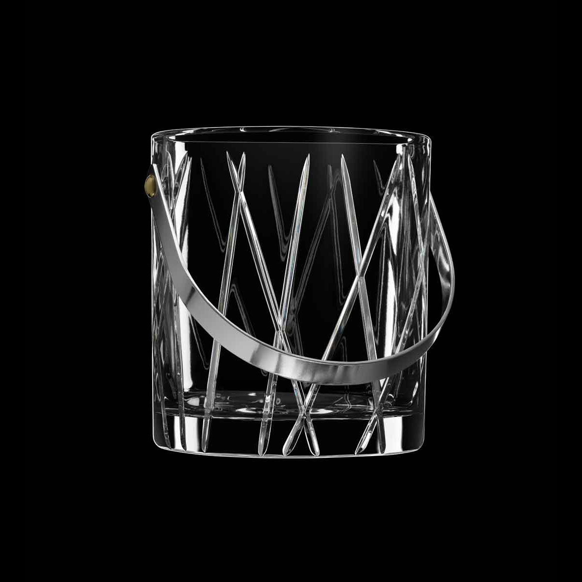 Orrefors Crystal, City Ice Bucket