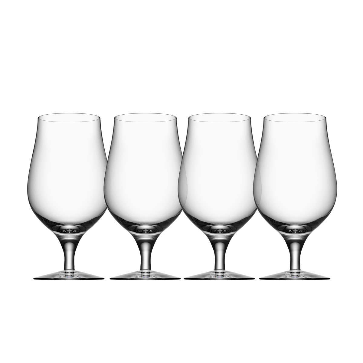 Orrefors Crystal, Crystal Beer Taster, Set of Four