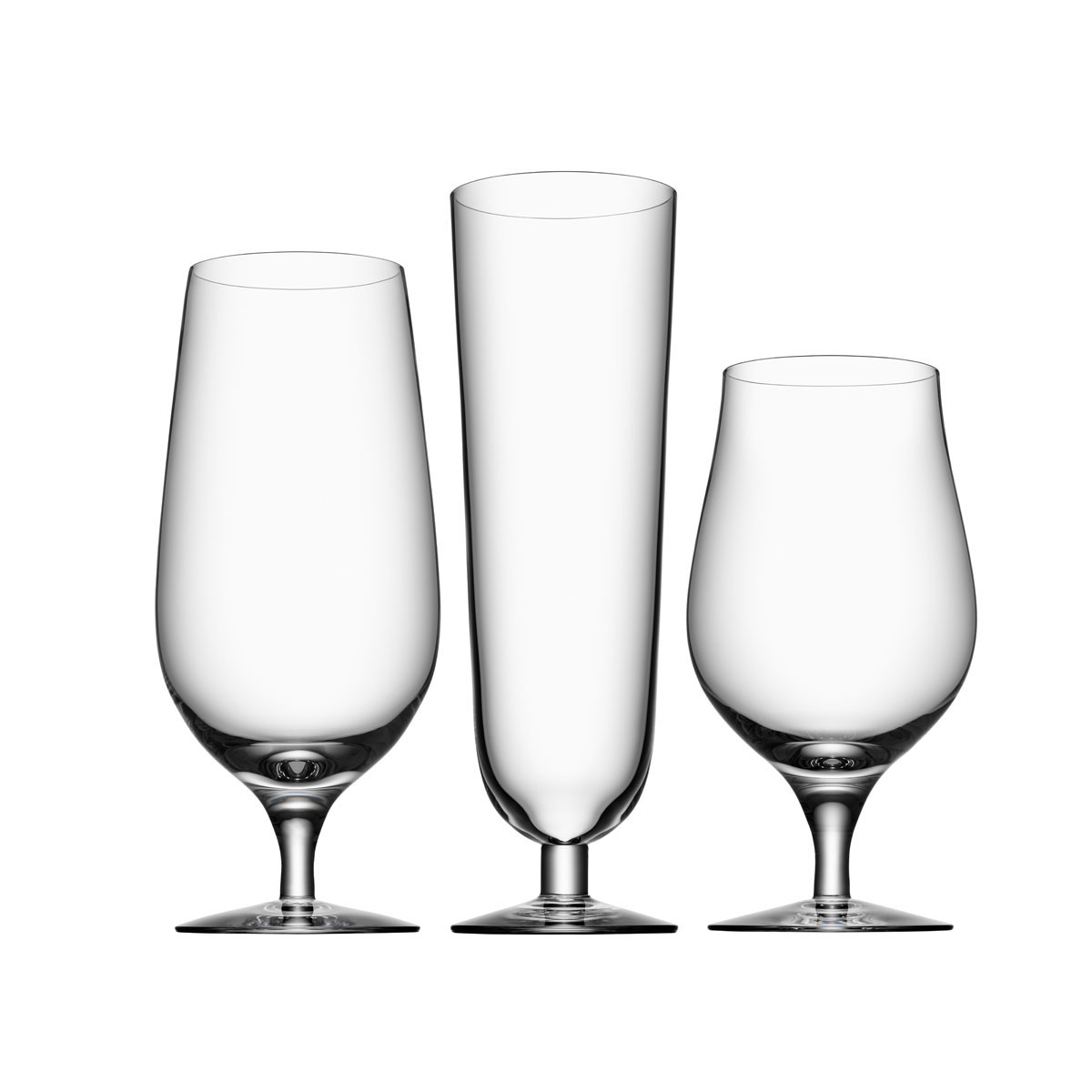 Orrefors Crystal, Crystal Beer Collection 3 Piece Set