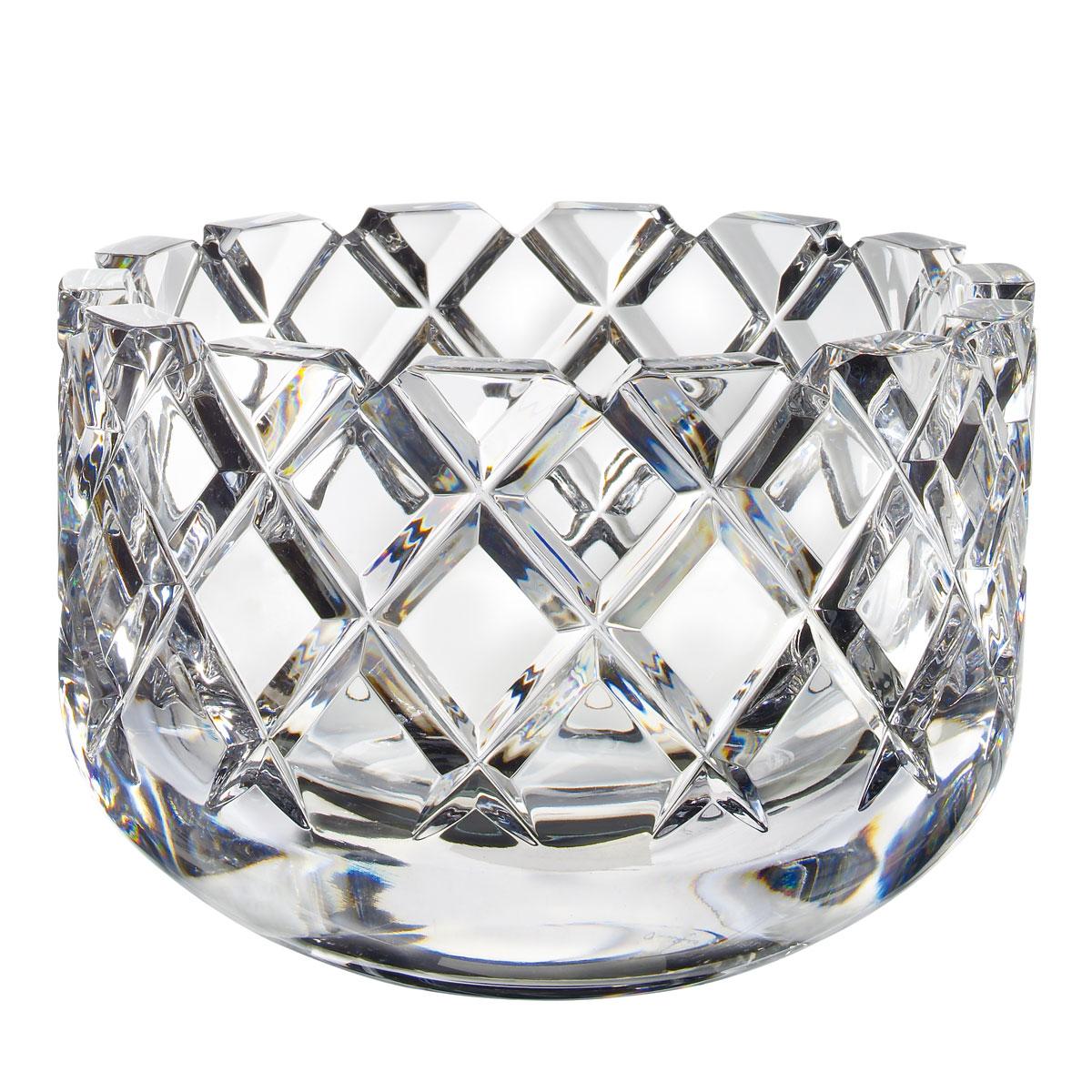 Orrefors Crystal, Classic Sofiero Large Crystal Bowl