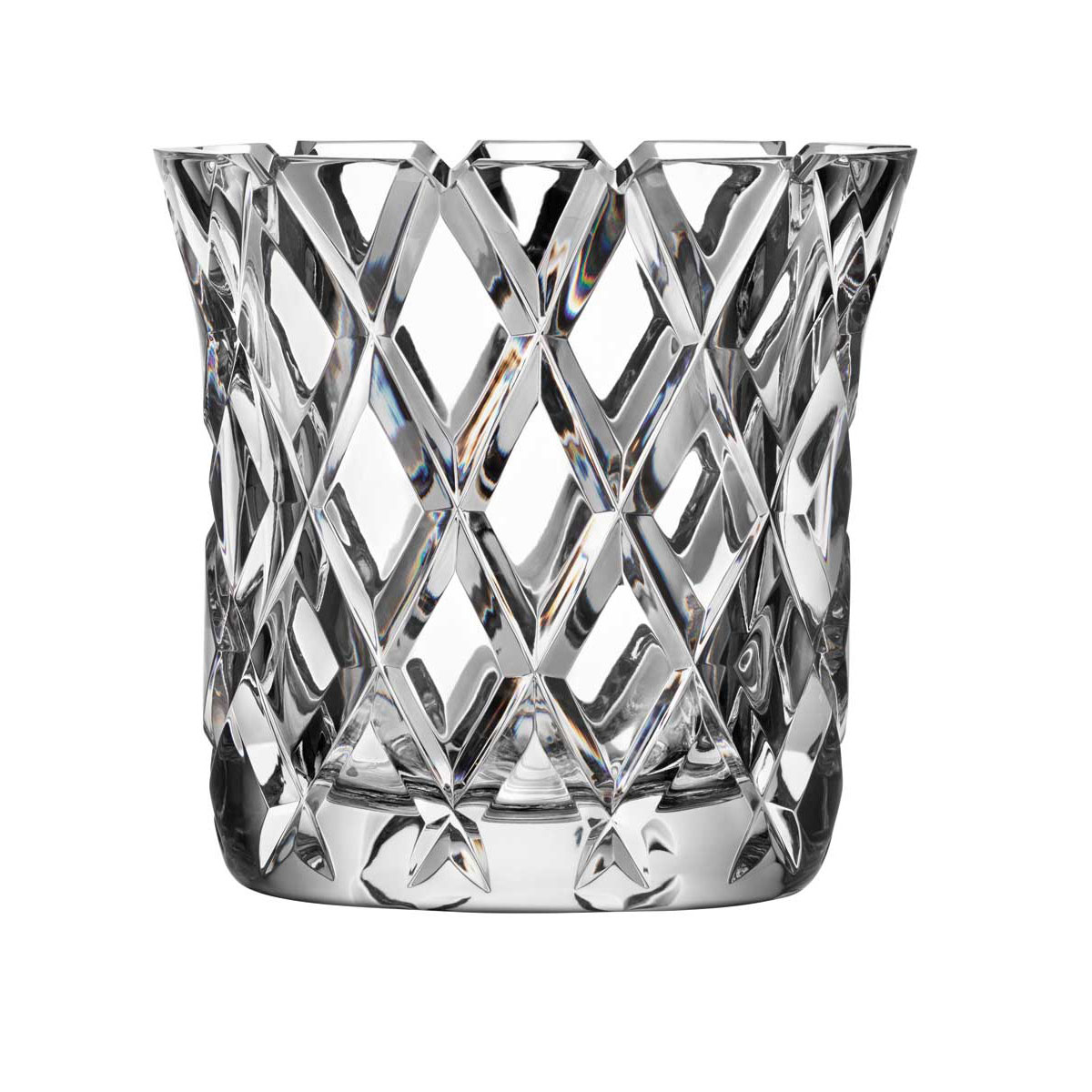 Orrefors Crystal, Sofiero Crystal Vase