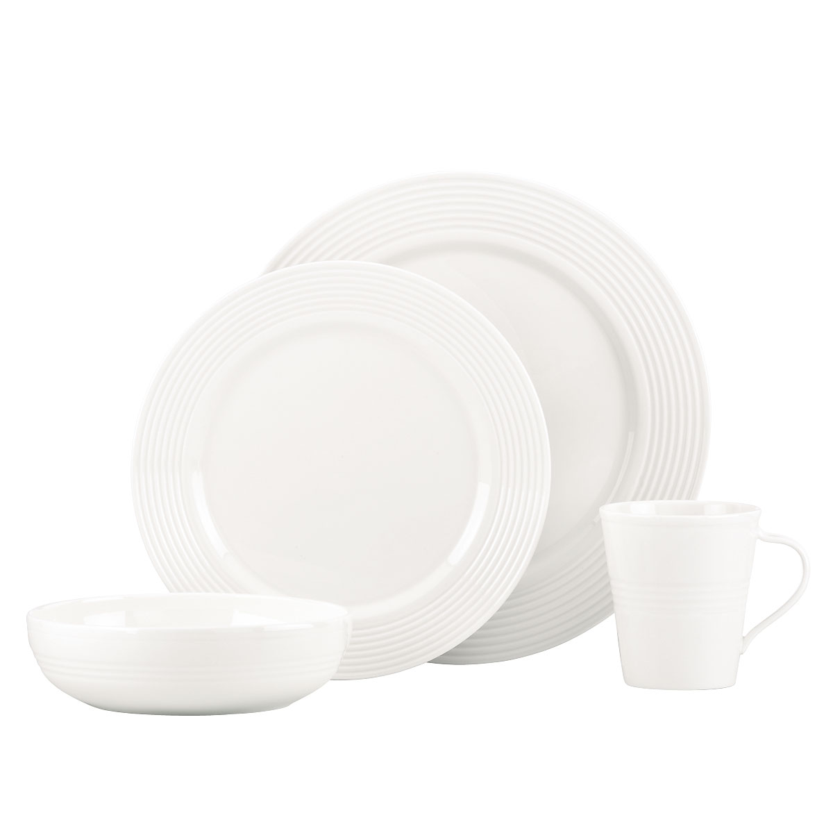 Lenox Tin Can Alley Seven Degree, 4 Piece Place Setting