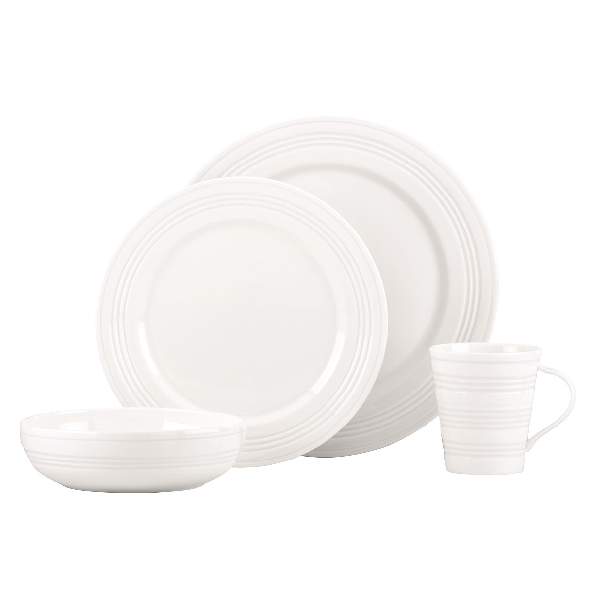 Lenox Tin Can Alley Four Degree, 4 Piece Place Setting
