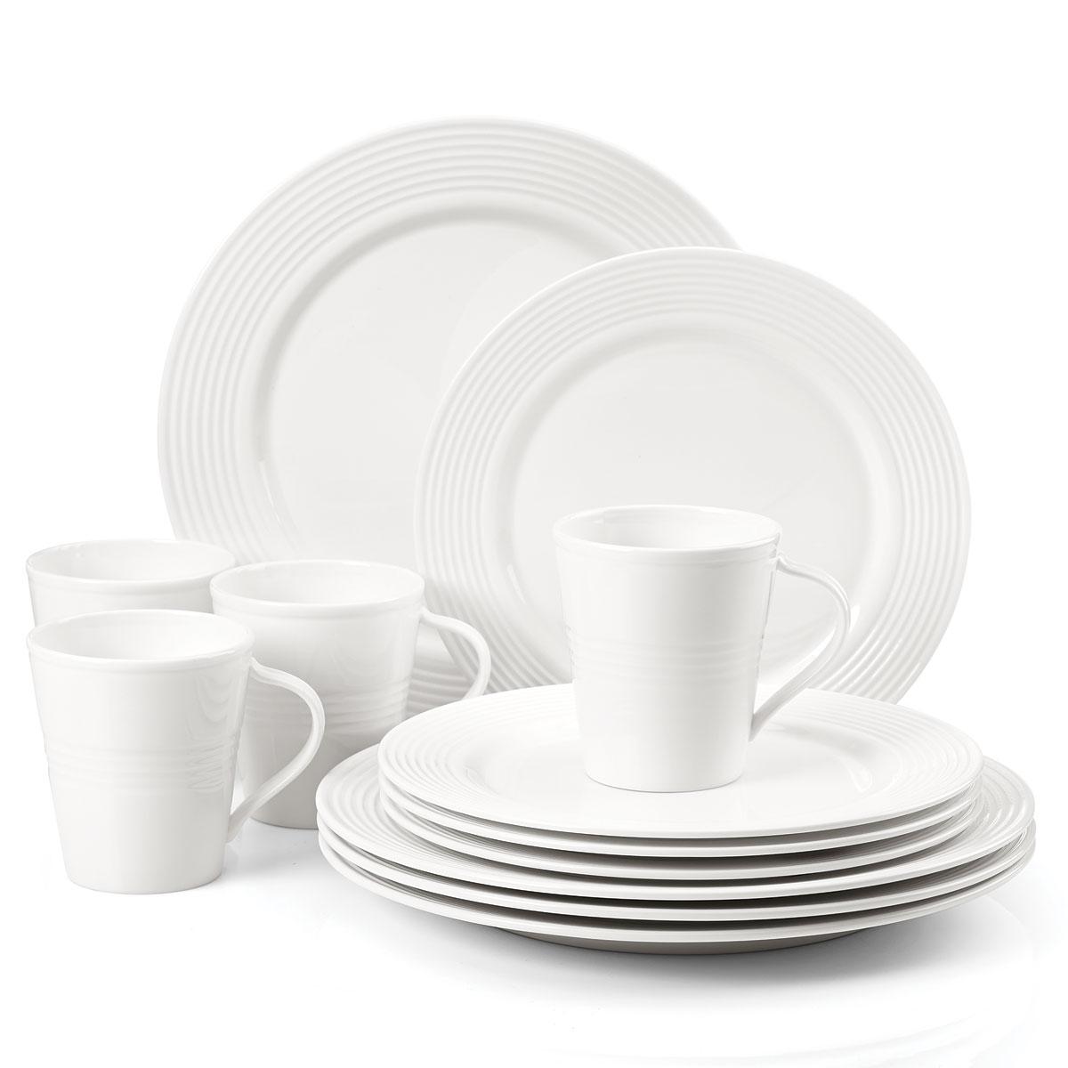 Lenox Tin Alley Dinnerware 7 Degree 12 Piece Set