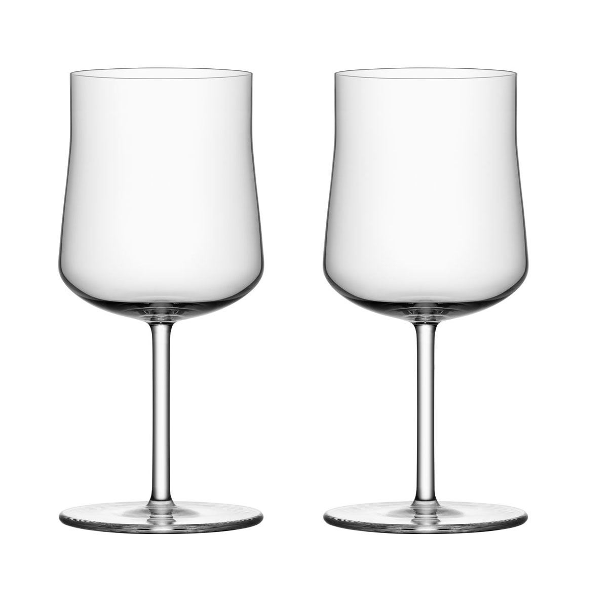 Orrefors Informal Small Wine Glasses Pair