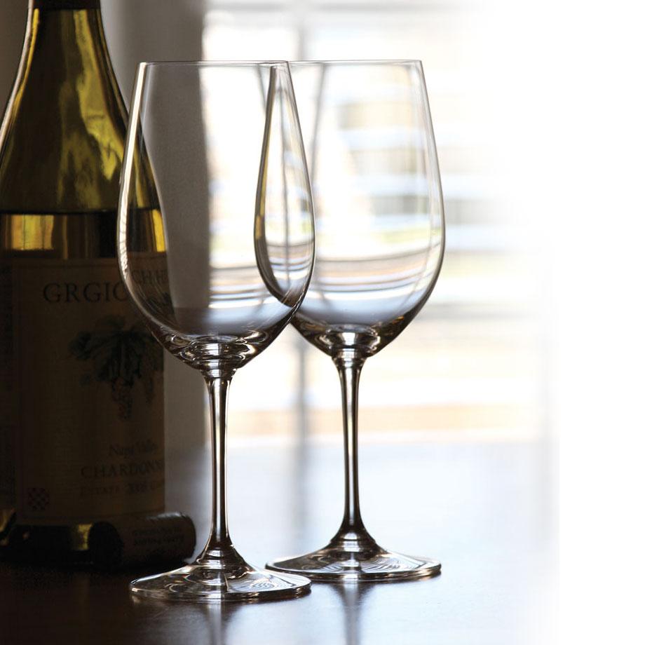Riedel Vinum, Zinfandel Riesling Grand Cru Crystal Wine Glasses, Pair