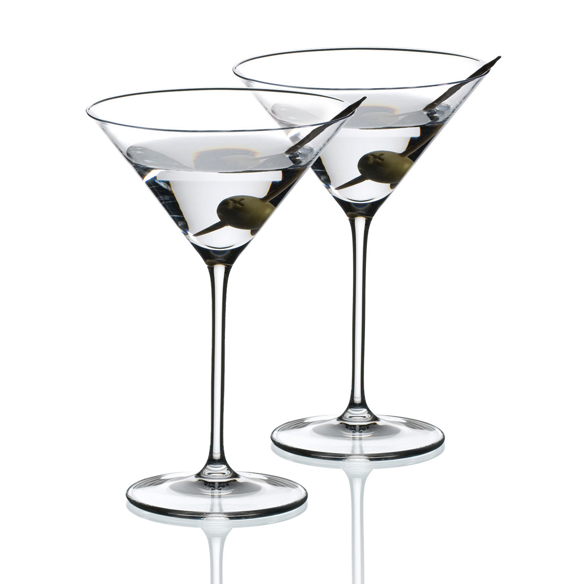 Riedel Vinum XL Martini Crystal Glasses, Pair