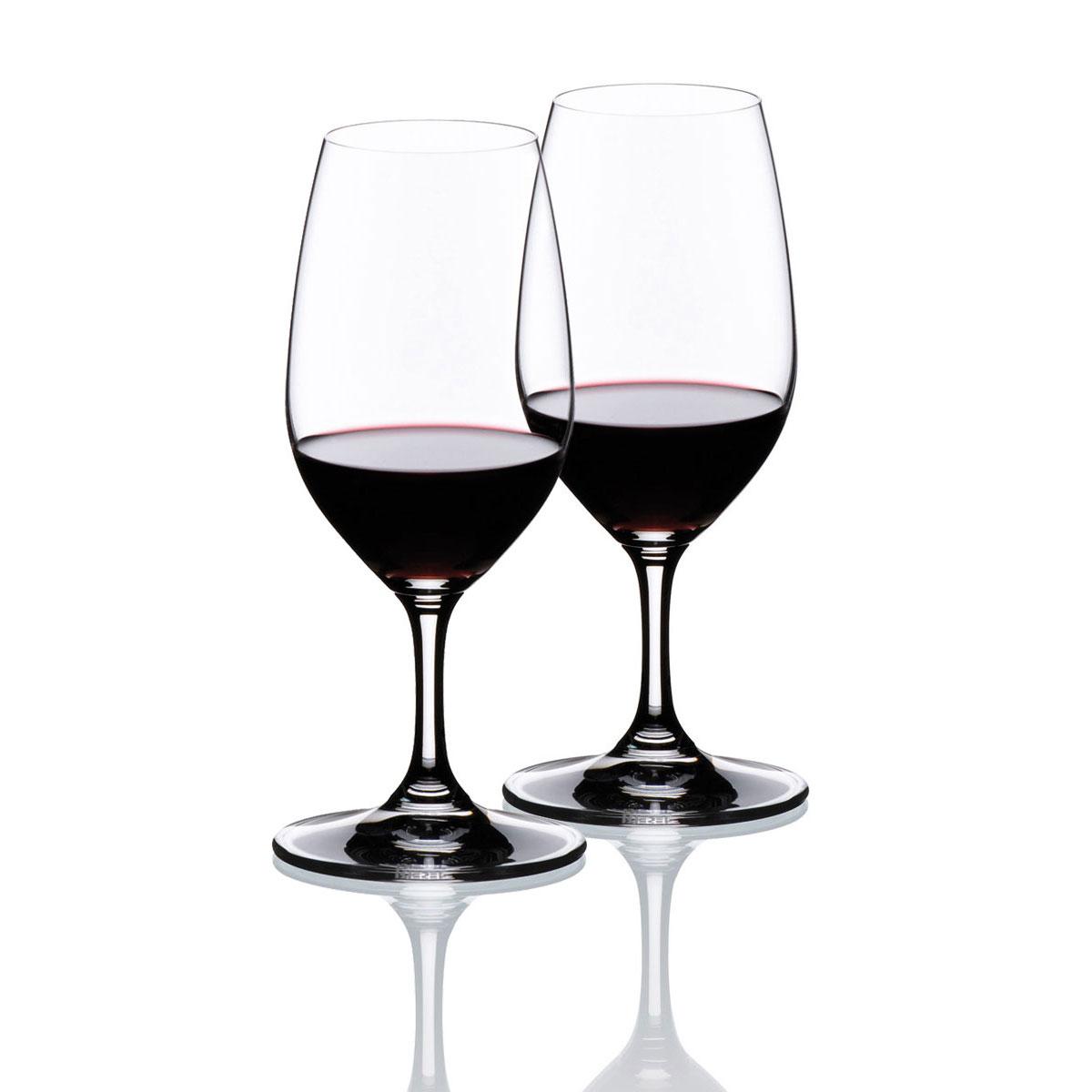 Riedel Vinum, Port Crystal Wine Glasses, Pair