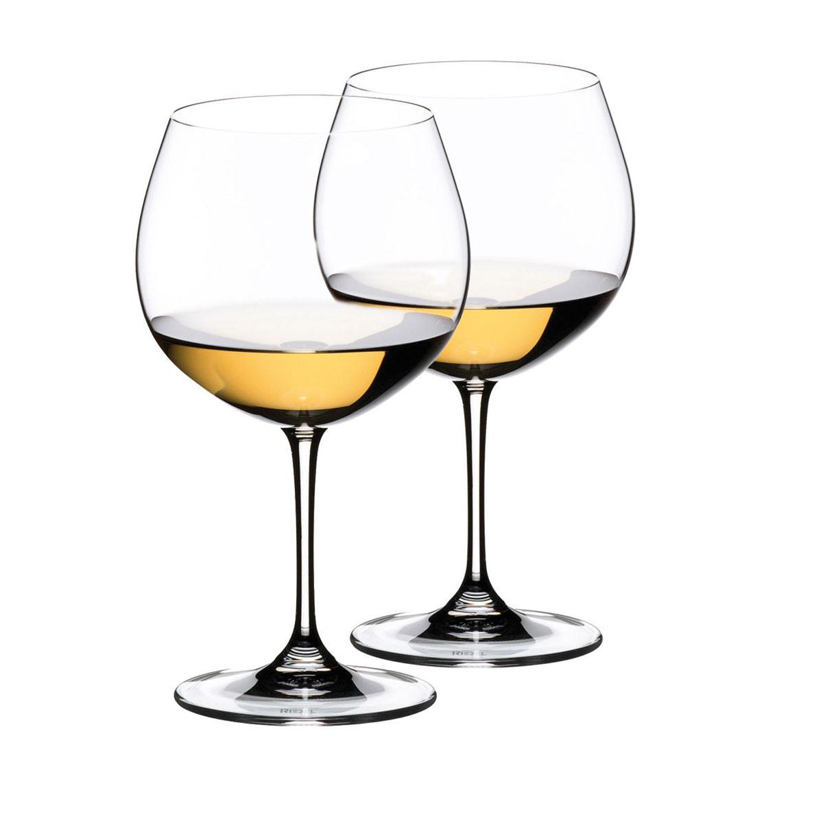 Riedel Vinum, Chardonnay, Montrachet Wine Glasses, Pair
