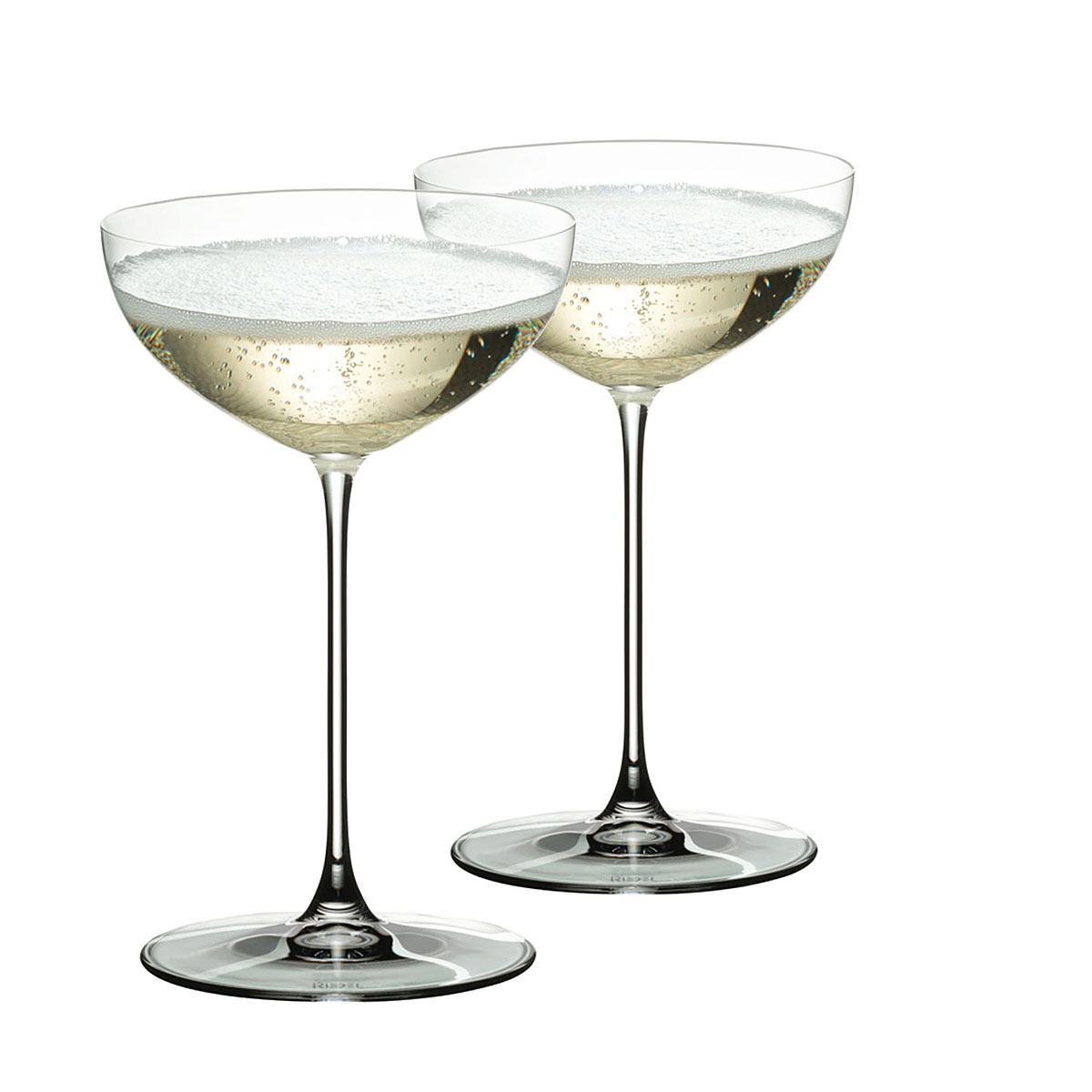 Riedel Veritas, Coupe, Moscato, Martini Wine Glasses, Pair