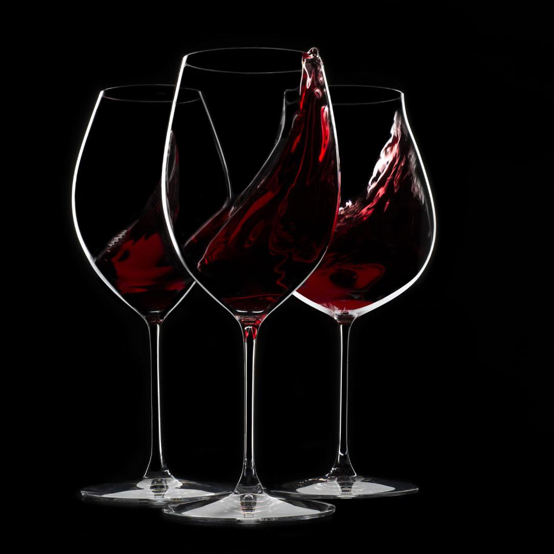 Riedel Veritas, Cabernet, Merlot Crystal Wine Glasses, Pair