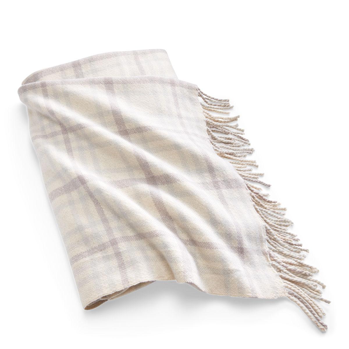 """Ralph Lauren Throw Blanket Conard Check 54""""x72"""""""