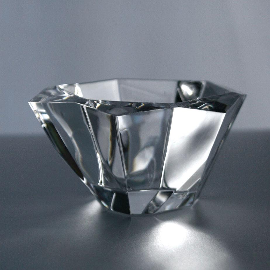 "Orrefors Crystal, Precious 6 1/4"" Crystal Bowl"