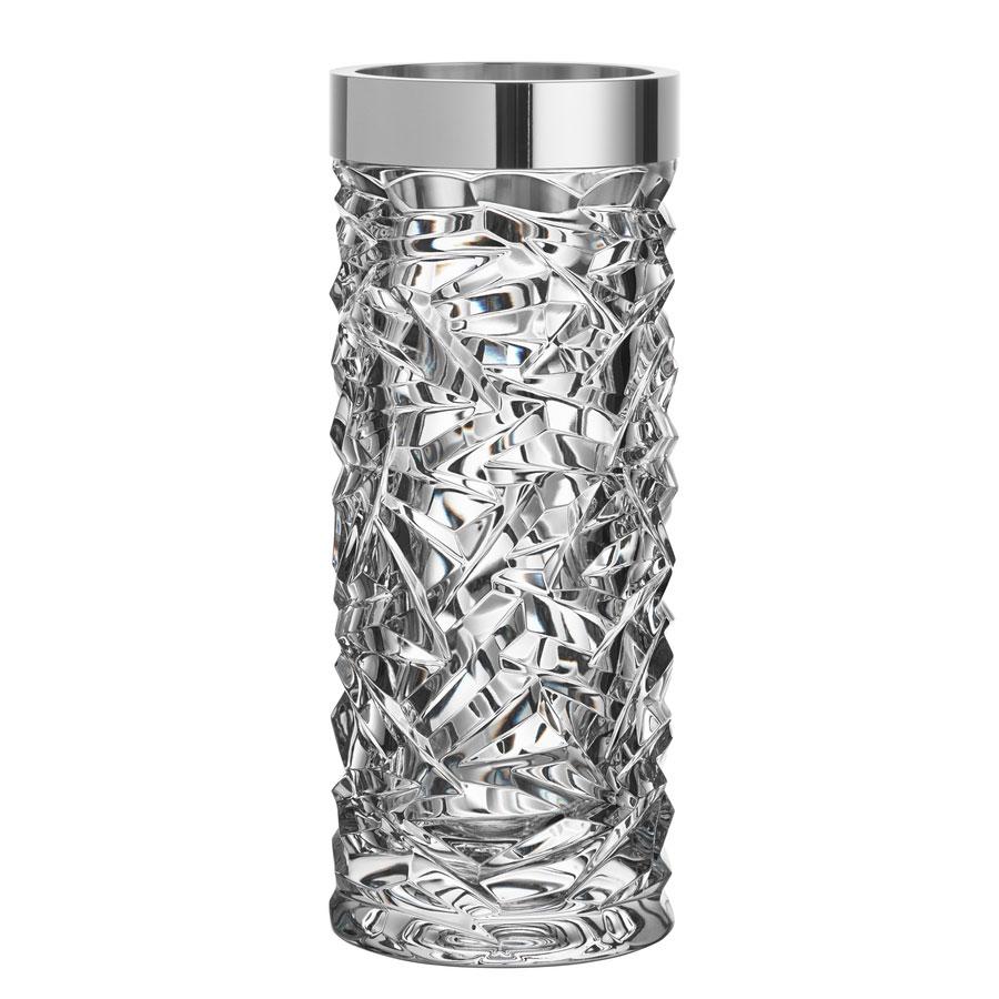 Orrefors Crystal, Carat Crystal Vase