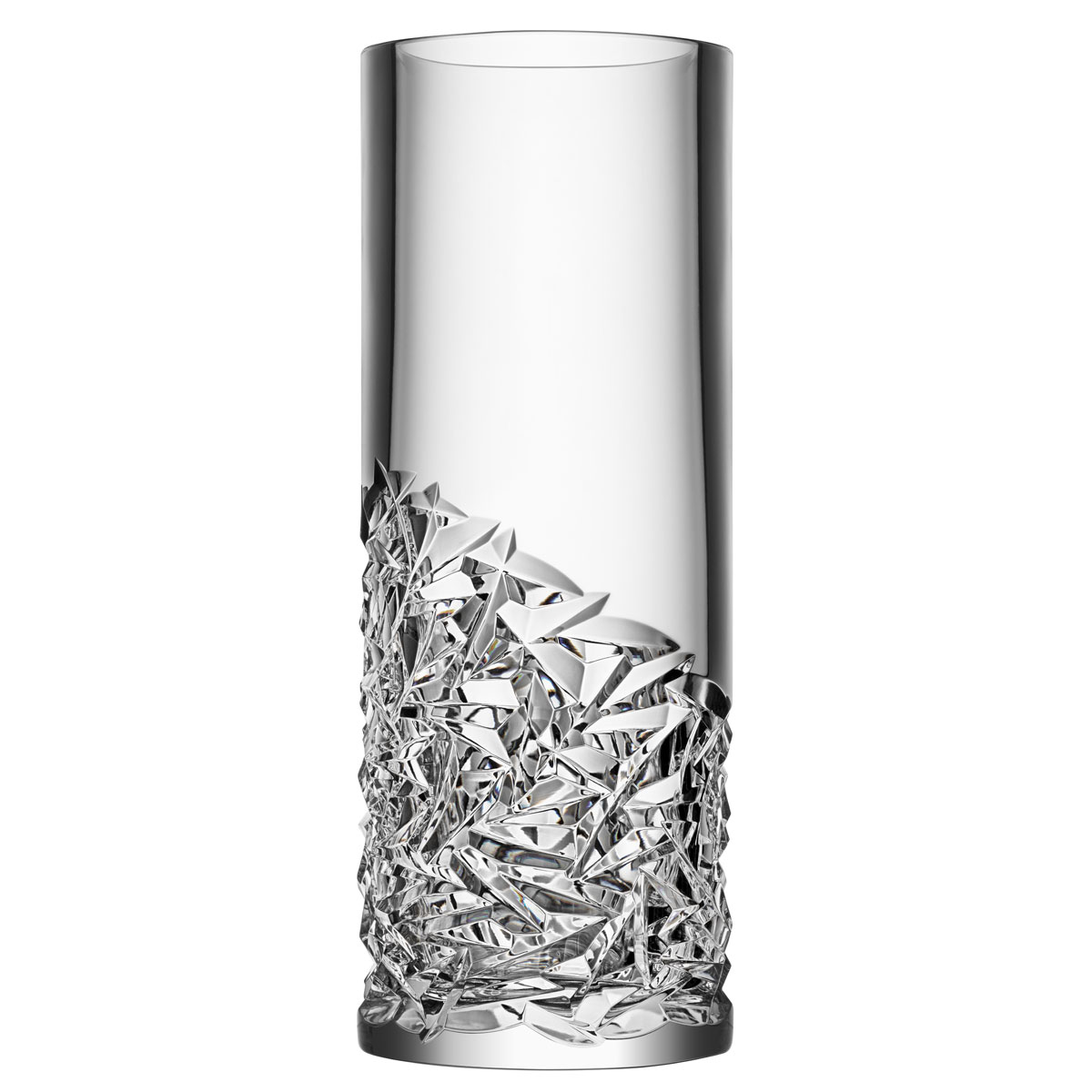 Orrefors Carat Vase Lower Cut