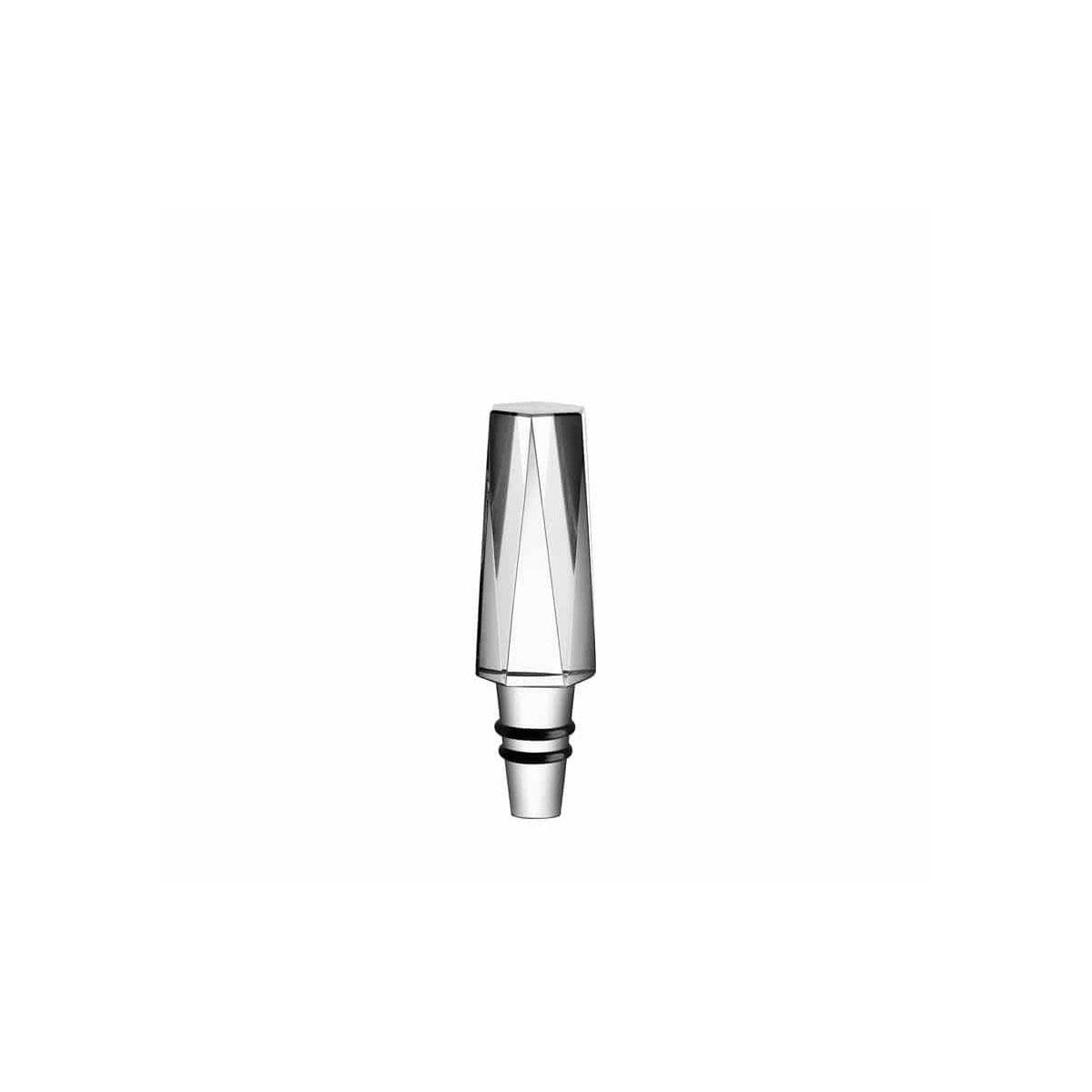 Orrefors Crystal, Sarek City Crystal Wine Bottle Stopper
