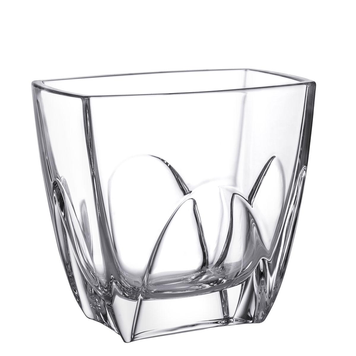 Orrefors Crystal, Cathedral Small Crystal Vase