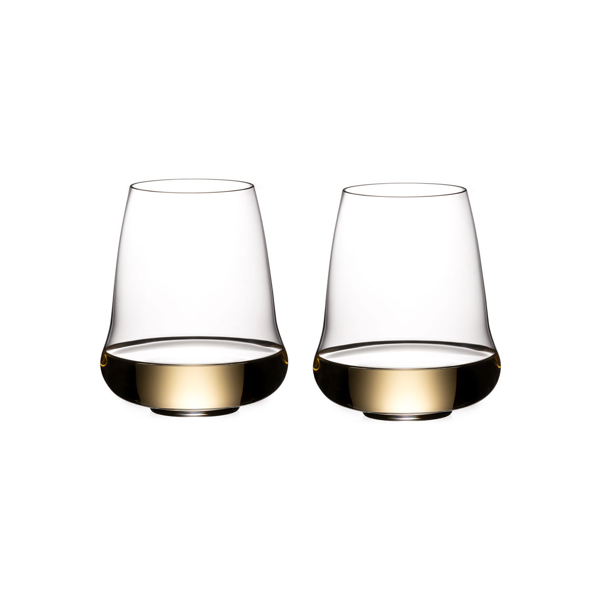 Riedel Stemless Winewings Riesling, Champagne Pair