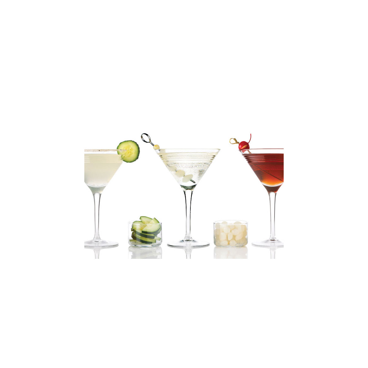 Ralph Lauren Bentley Crystal Martini Glass, Single