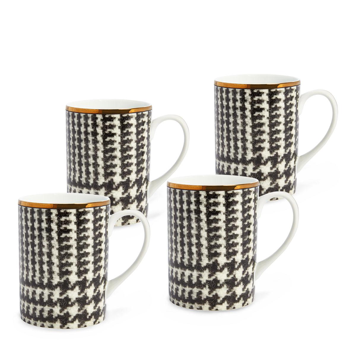 Ralph Lauren China Wessex Mugs, Set of Four