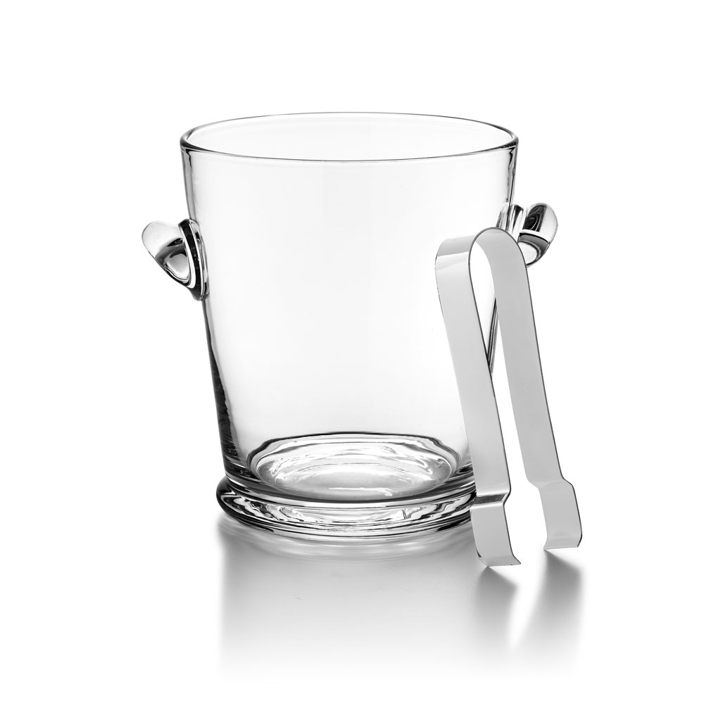 Ralph Lauren Ethan Ice Bucket and Tongs