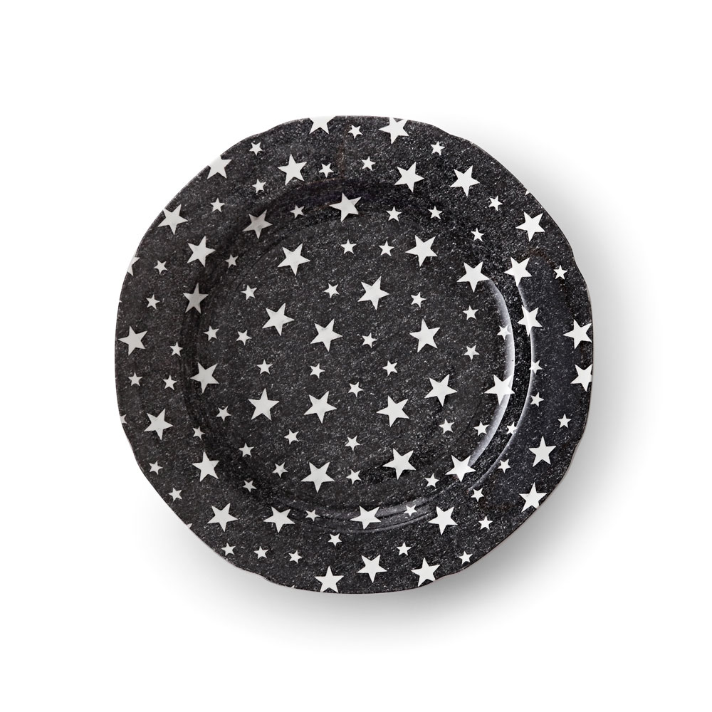 Ralph Lauren China Midnight Sky Salad Plate Single, Black