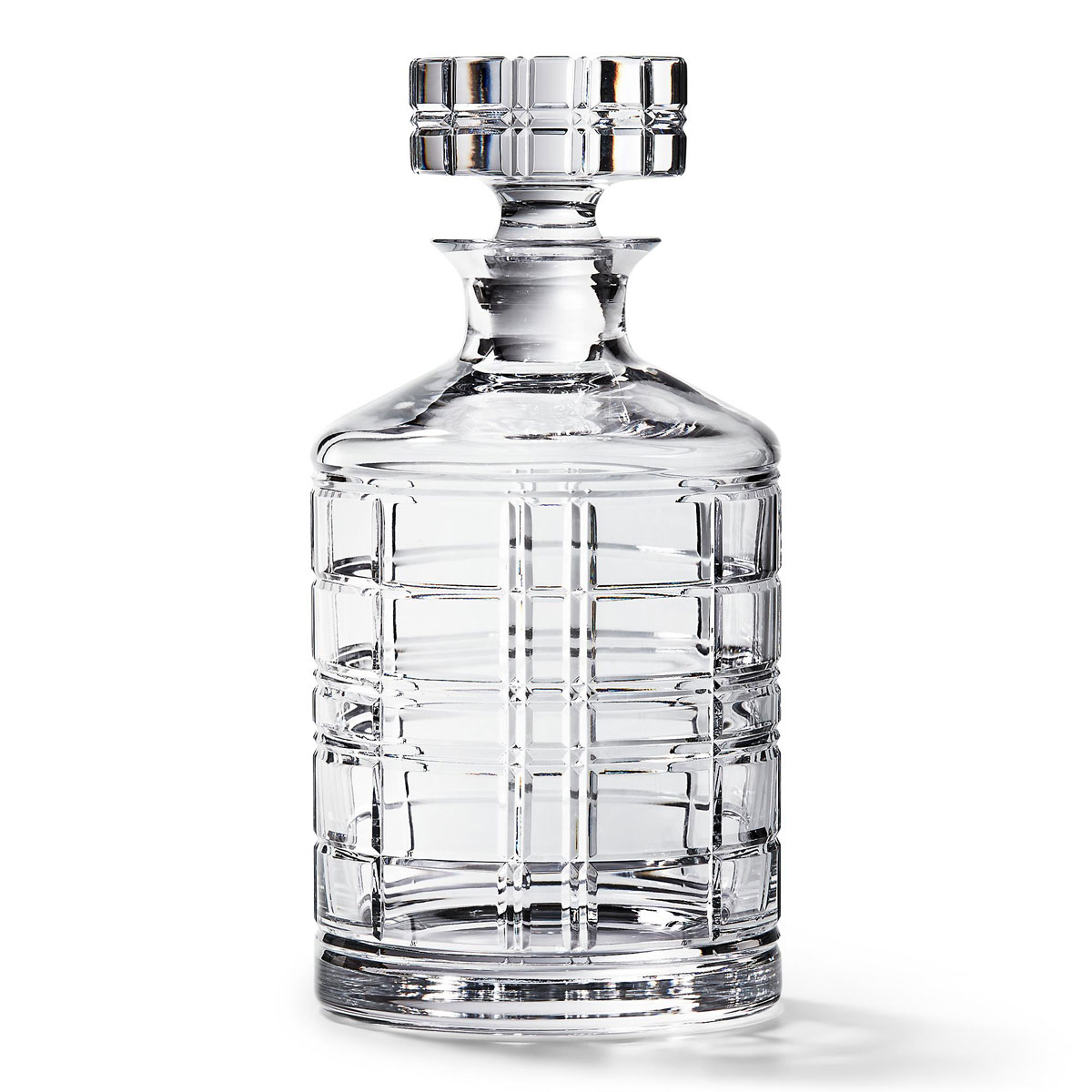 Ralph Lauren Hudson Plaid Decanter