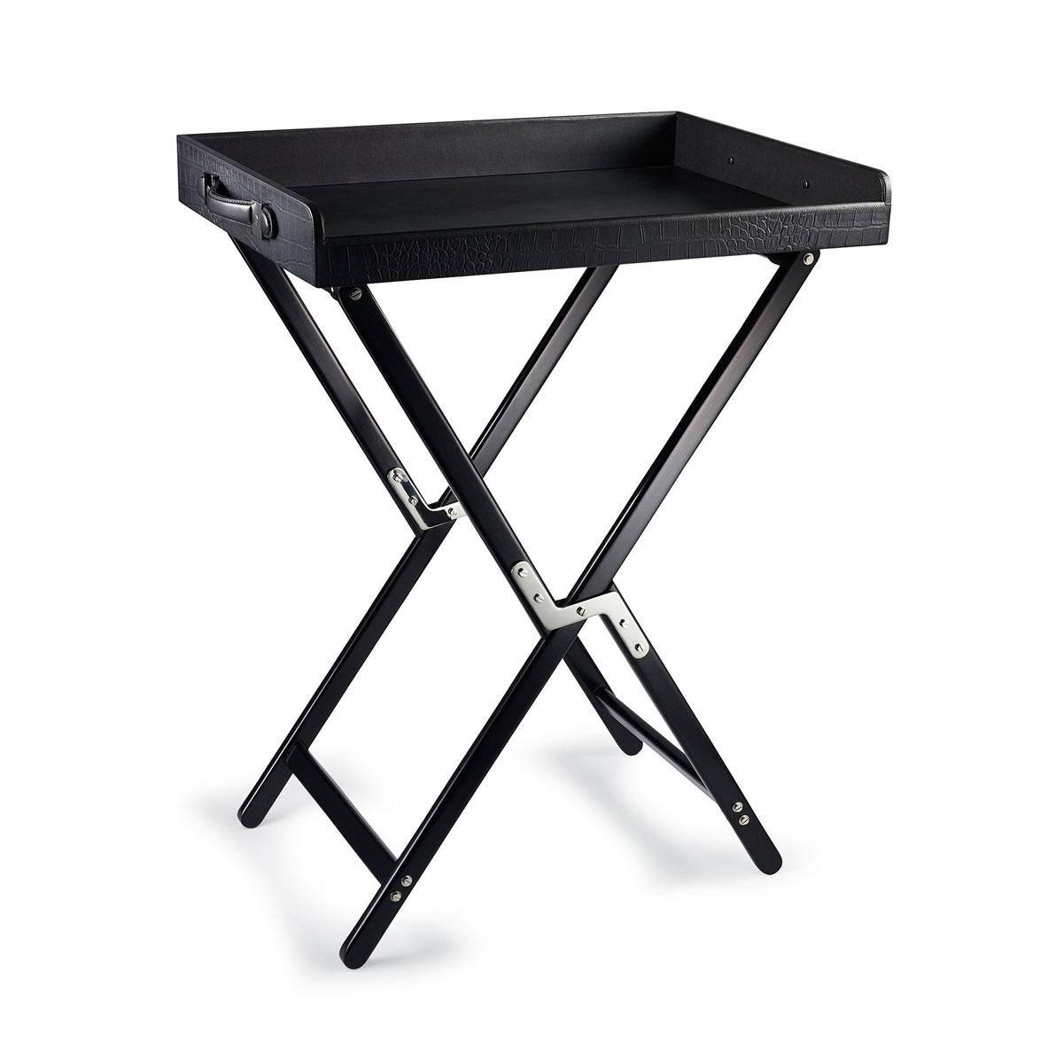 Ralph Lauren Gavin Tray Stand, Black