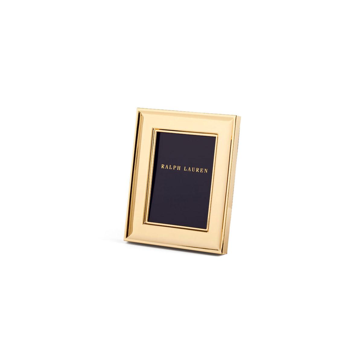 """Ralph Lauren Cove 5x7"""" Frame, Gold"""