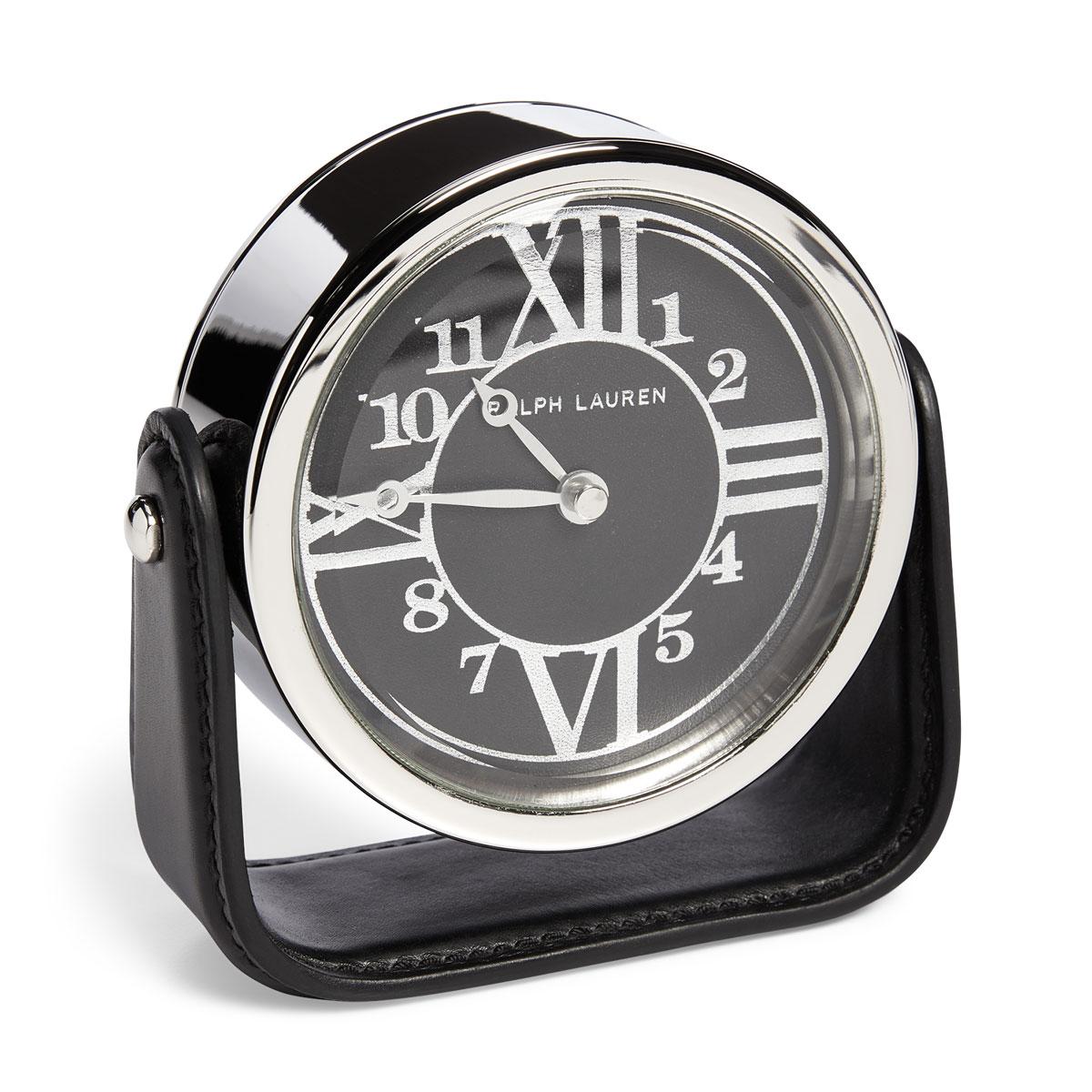 Ralph Lauren Brennan Clock, Black