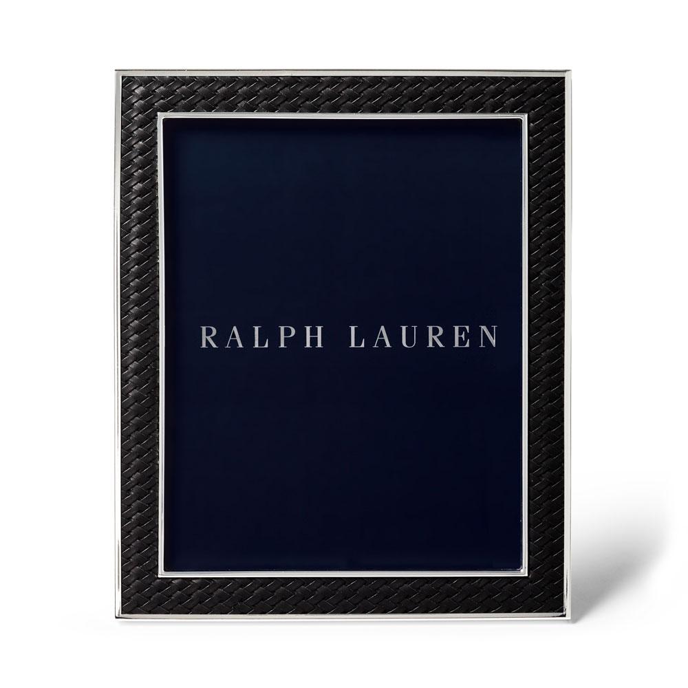 "Ralph Lauren Brockton 8""x10"" Frame, Black"