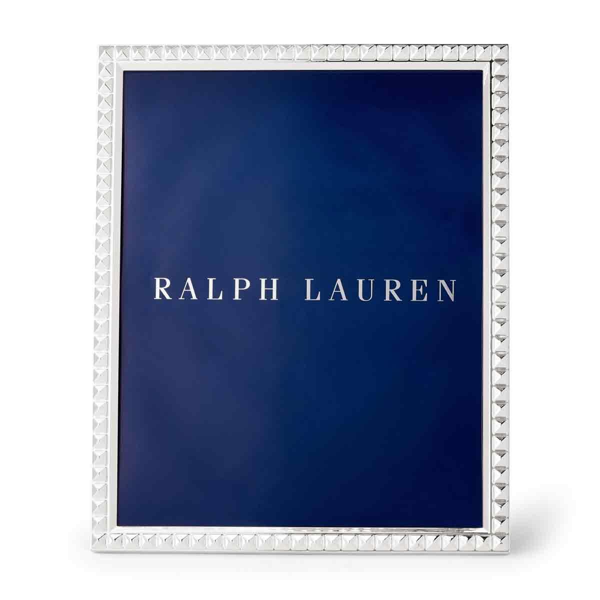 "Ralph Lauren Raina 8x10"" Frame, Silver"