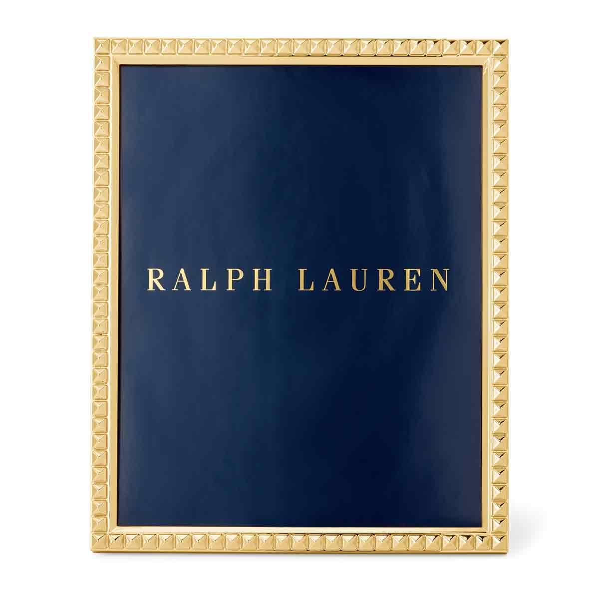 """Ralph Lauren Raina 8x10"""" Frame, Gold"""