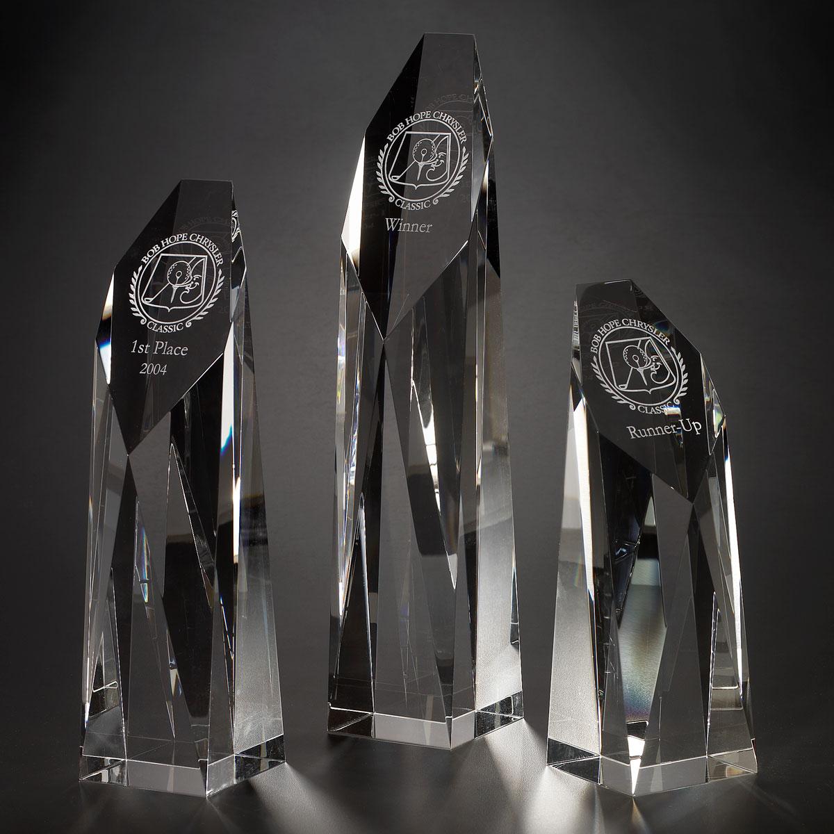 Orrefors Crystal, Ranier Award, Medium