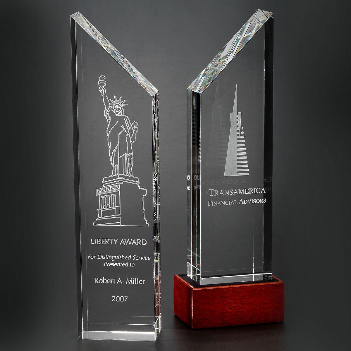 Orrefors Crystal, Manhattan Award, Large