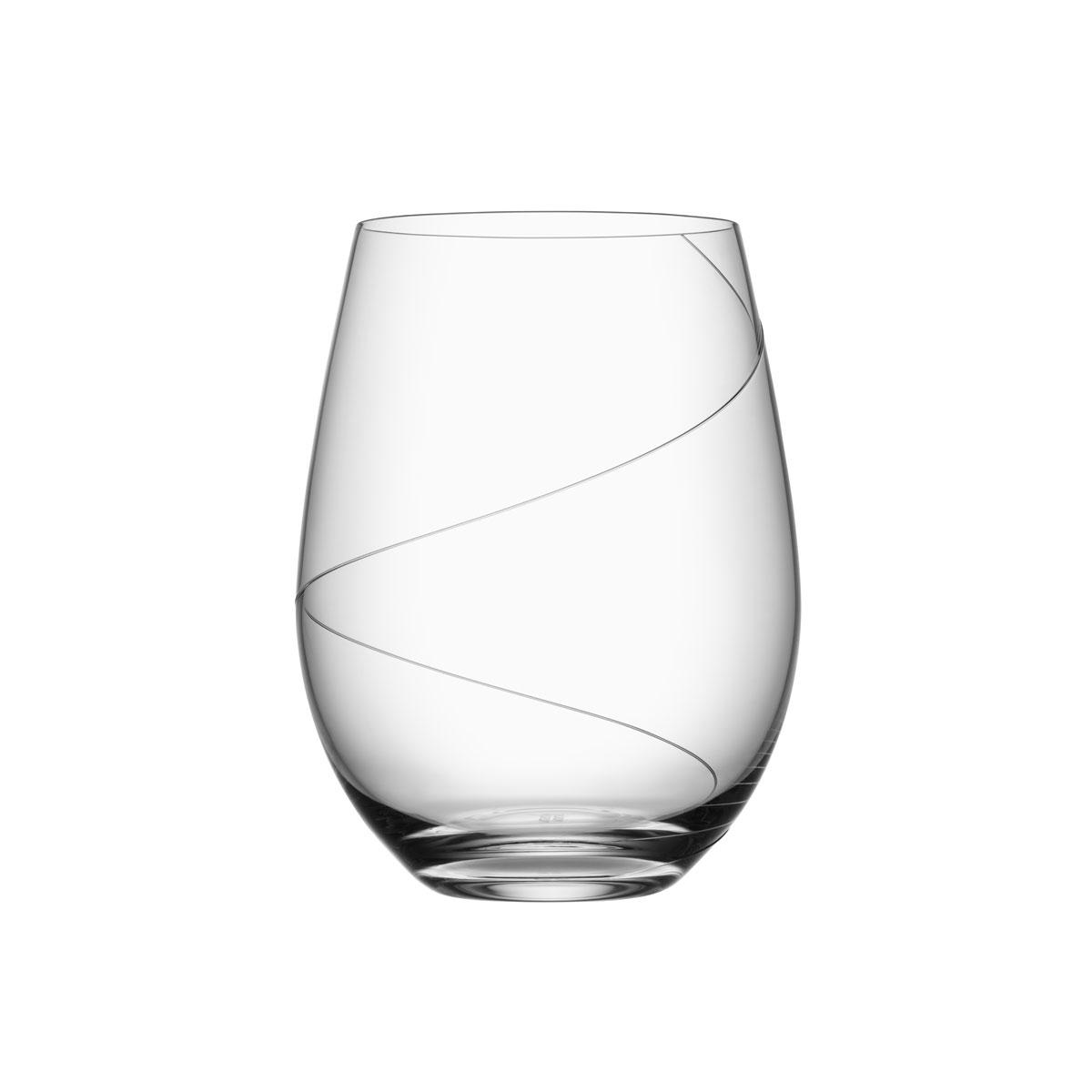 Kosta Boda Line Gin and Tonic Glass, Single