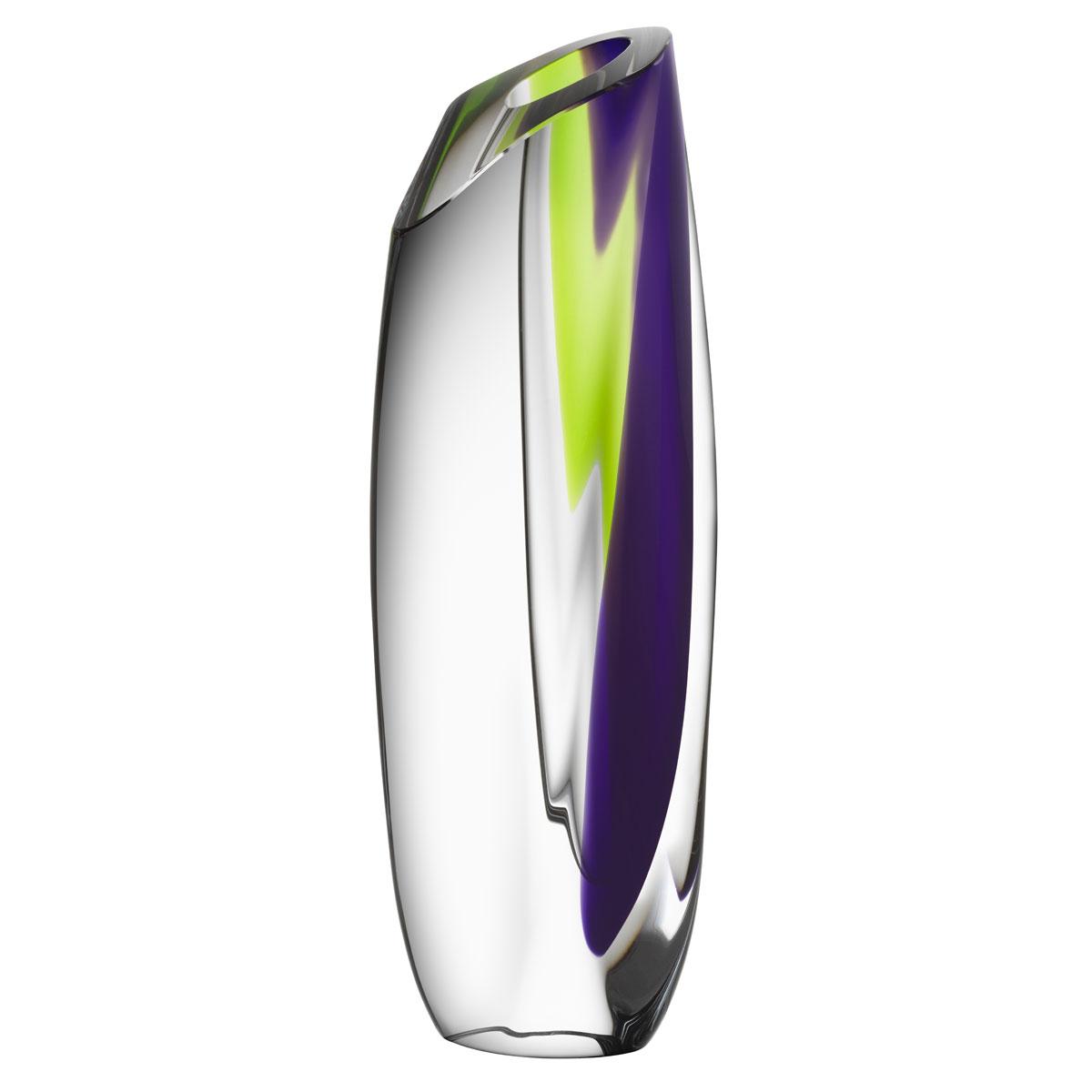 Kosta Boda Saraband Vase Purple, Green