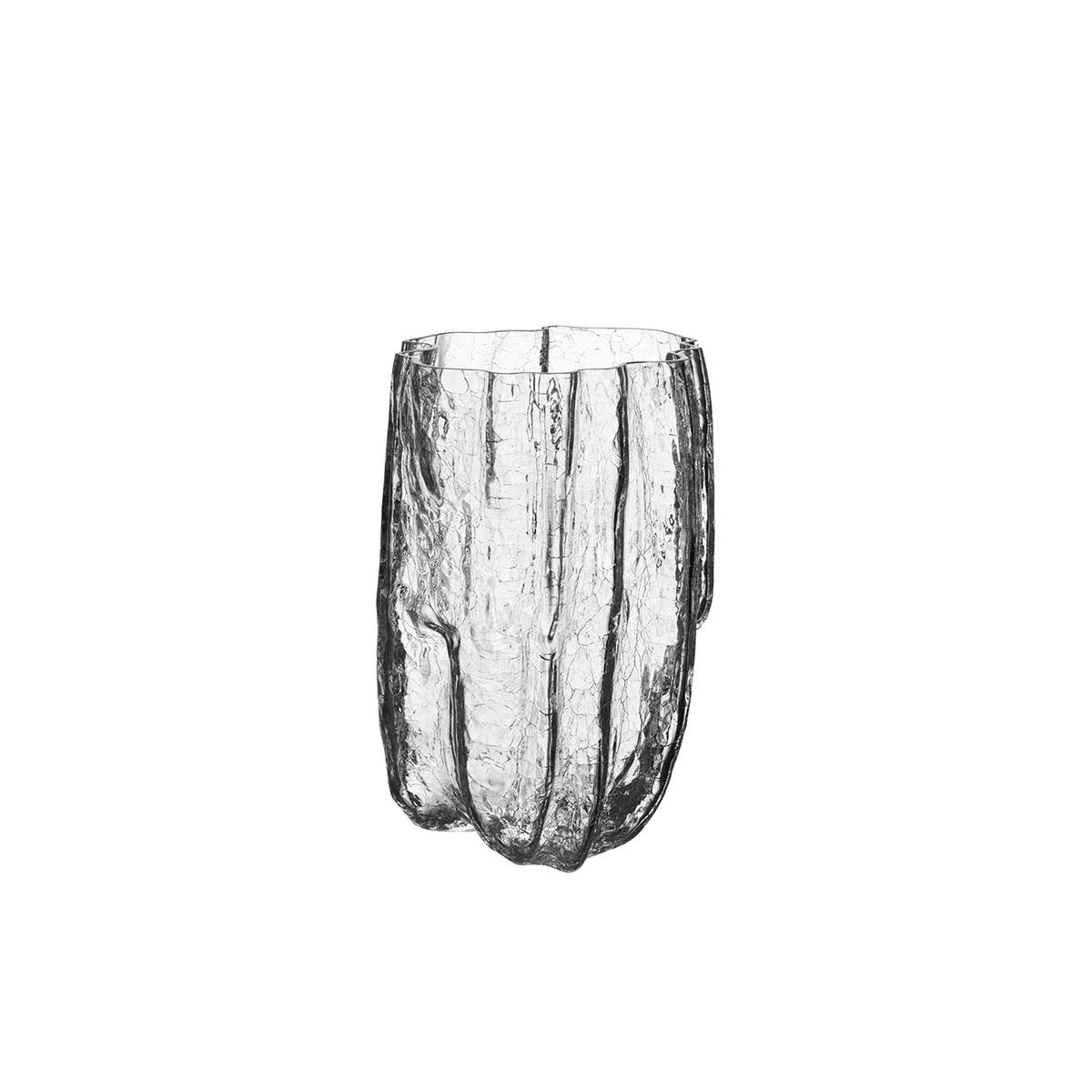 """Kosta Boda Crackle 11"""" Vase"""